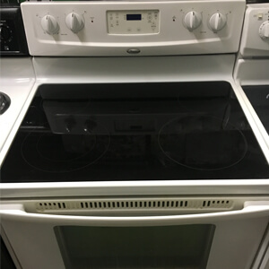 Whirlpool White Flat Top Stove Discount City Inc